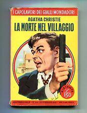 Agatha Christie # LA MORTE NEL VILLAGGIO # Mondadori 1959 N.113