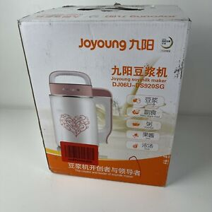 Joyoung Creator And Leader Automatic Hot Soy Milk Maker DJ06U - DS920SG Open Box