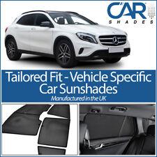 Mercedes GLA 5dr 2014> UV CAR SHADES WINDOW SUN BLINDS PRIVACY GLASS TINT BLACK