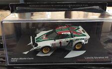 """DIE CAST """"LANCIA STRATOS HF RMC - 1977 SANDRO MUNARI - SILVIO MAIGA"""" SCALA 1/43"""