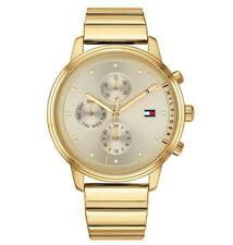 Brand New Tommy Hilfiger Ladies Blake Gold Chronograph Watch 1781905 Chronograph