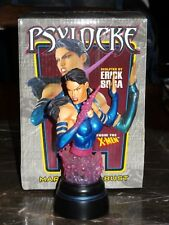 Bowen Mini-Bust Marvel Comics Psylocke Statue Figure X-Men X-Force Avengers