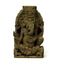 Tolles 39cm Holz Relief GANESHA Wand Elefant Deko Gott Bali Handarbeit Rel37