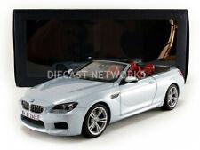 BMW 6er Reihe M6 F12 Cabrio Cabriolet silber 2012 Paragon Diecast S-Preis 1:18