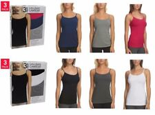 (3-pack) Felina Ladies' Cotton Stretch  Camisole