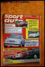 Sport Auto 8/93 Plymouth Prowler Viper Brabus C280 3.6