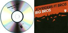 JOYRIDERS ft. BROS - Big Bros - (8 Track CD Promo) -When Will I Be Famous - Bros