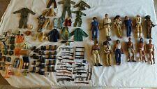 Job lot, lot de figurine vintage Action Joe/Gi joe, et accessoires à voir