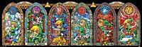 The Legend Of Zelda Poster Link Buntglas 91.5x30.5cm. Offiziell lizenziert