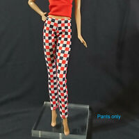 "Handmade~Doll pants for 12"" Doll~ Barbie,FR, Silkstone,Tall barbie, Muse barbie"