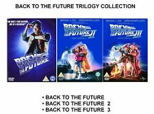 BACK TO THE FUTURE TRILOGY DVD PART 1 2 3 BRAND NEW AND SEALED UK REGION 2 DVD