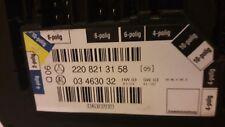 MERCEDES W220 SEAT SWITCH A2208213158