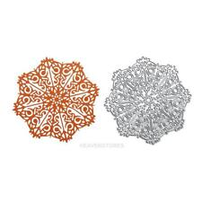 Snow Flower Decor Carbon Steel DIY Stencil Paper Craft Cutting Die hv2n