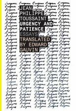 Urgency and Patience (Belgian Literature)