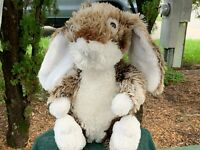 ✅ Vintage Dan Dee Collectors Choice Fluffy Bunny Rabbit Plush Stuffed Animal