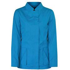 JIL SANDER $1,830 teal blue cotton Chrysler coat vented back jacket 34-F/2 NEW