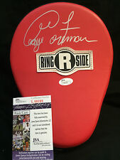 GEORGE FOREMAN Signed Autograph Auto Ringside Boxing Punch Mitt Glove JSA