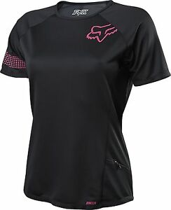 Fox Racing Womens Ripley s/s Jersey Black