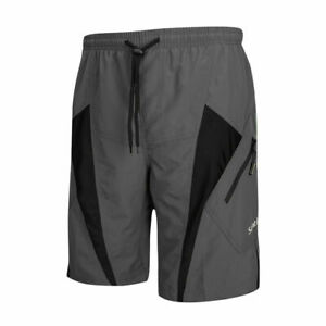 SANTIC Cycling Shorts Casual Shorts With Pad Sports Fitness Pants Leisure Loose