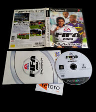 FIFA 2003 EA SPORTS Sony PS2 PLAYSTATION2 Play2 Station Japones