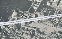 Rom - Roma - Peterskirche - Luftbild  - um 1905 -  selten - L 17-18