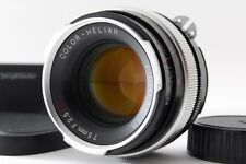 [Exc++++] VOIGTLANDER 75mm F/2.5 SL COLOR HELIAR For NIKON AI-S From Japan #256