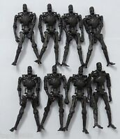 LOT OF 8 Playmates Toys Terminator Salvation - T 700 Endoskeleton - 3.75""