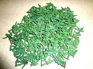 "144 Green Plastic Mini Army Men 1"" Inch Bulk Action Figures Toy Soldier for kids"
