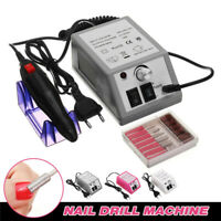 20000rpm Electric Nail File Drill Manicure Tool Pedicure Machine Set kit EU Plug