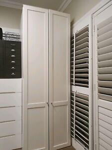 White solid huge (80cm x 67cm×230cm) multi purpose cupboard
