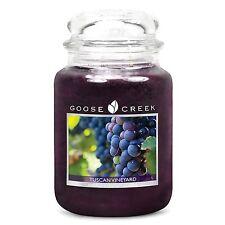 Goose Creek 24oz Large Jar Candle Tuscan Vineyard