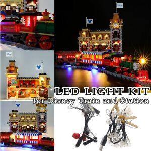 LED Light Kit only For Lego 71044 Disney Train and Station Bricks Building DIY