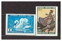 Russia USSR 1959 MNH New Animals Birds 2v s23235