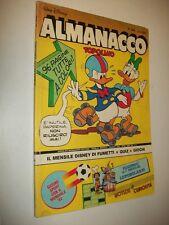 ALMANACCO TOPOLINO:WALT DISNEY.ALBI D'ORO:N.306 MONDADORI.GIUGNO 1982 BUONO!