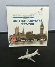 Gemini Jets 1:400 Boeing 737-200 British Airways (Teaming up for Britain) G-BKYG