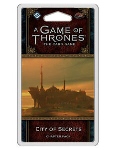 A Game of Thrones LCG 2e City of Secrets - NEW Board Game - AUS Stock