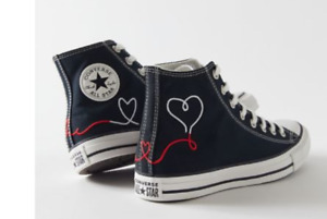 NEW Converse Chuck Taylor All Star Made With Love High Top Sneaker - size 8