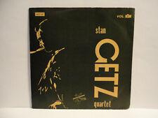 """EP SWEDEN - STAN GETZ QUARTET  """"VOLUME 3"""" - JAZZ - COOL JAZZ - 1955 - NEAR MINT!"""