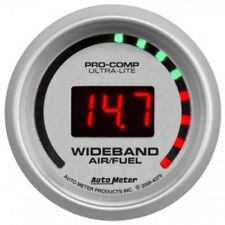 "Auto Meter 4379 2-1/16"" Ultra-Lite Wideband Street Air/Fuel Ratio Gauge"