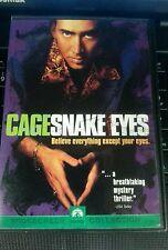 Snake Eyes Dvd Nicholas Cage, Gary Sinise, John Heard, Kevin Dunn
