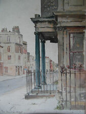 London Street Scene Verde pilares, Lincolns Inn? por Mordaunt M Parker. en la lista.