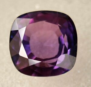 10x10 to 11x12 mm Unique Quality Sapphire Gemstone For Making Jewelry 20 Ct Purple Sapphire fancy Shape faceted Loose Gemstone M-11492