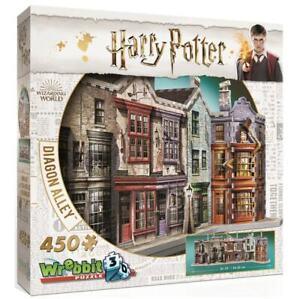 Wrebbit 3D Harry Potter Diagon Alley Jigsaw Puzzle - 450 Pieces