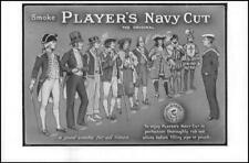 1912 ADVERTISING Players Navy Cut Cigarettes (30)
