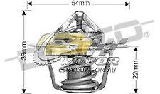 DAYCO Thermostat FOR Mazda 626 1/1984-12/1984 2L 8V Diesel 47kW RF