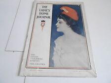 JULY 1904 LADIES HOME JOURNAL fashion magazine GREAT ADS - C ALLEN GILBERT