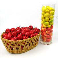 20Pcs/Bag Mini Artificial Fake Fruit Foam Fruits Home Party Kitchen Decor HC