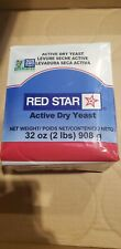 Red Star Active Dry Yeast - 2lbs Bread & Baking FREE PRIORITY SHIPPING!