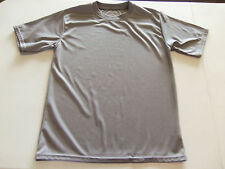 AEROLINE YOUTH BOYS  FITNESS GEAR ATHLETIC SHIRT GRAY SIZE XL 16-18 NWOTS