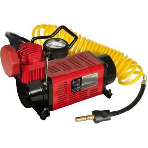 Masterflow 12V Heavy Duty Air Compressor Inflator 4X4, truck, SUV, and RV tires